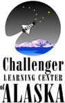 Challenger Learning Center of Alaska logo