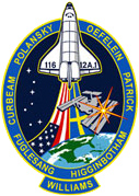 NASA STS-116 Mission Logo